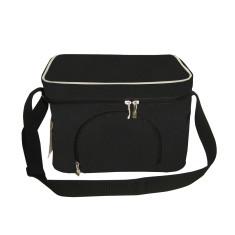 Delux 6L insulated cooler bag in Black