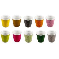 les artistes honeycomb espresso cups (set of 10)