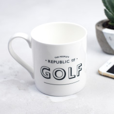 The People's Republic of Golf Bone China Mug