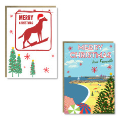 Christmas Fremantle cards (set of 8)