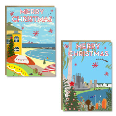 Christmas Western Australia cards (set of 8)
