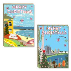 Christmas Western Australia cards (set of 8)