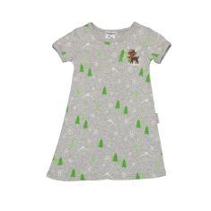 Girls' reindeer play dress