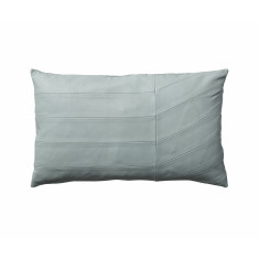 AYTM Coria Leather Cushion in mint