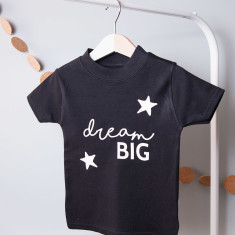 Personalised Dream Big Children's T Shirt