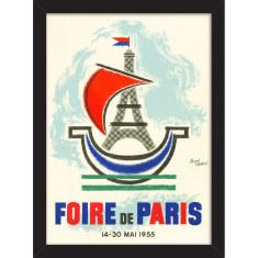 Foire de Paris Print
