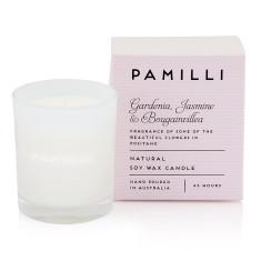 Natural Soy Candle (Italia Range) - Gardenia Jasmine & Bougainvillea