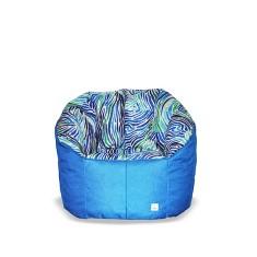 BBBYO Luxury linen armchair beanbag - watercolor print