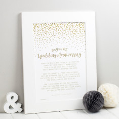Wedding Anniversary Prints - Anniversary Gift