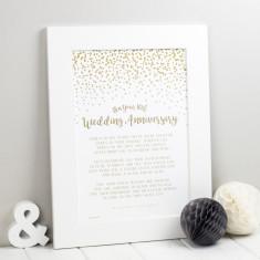 Wedding Anniversary Prints - Anniversary Gift