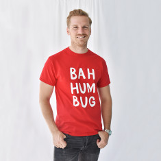 Bah Humbug Christmas Men's Tee