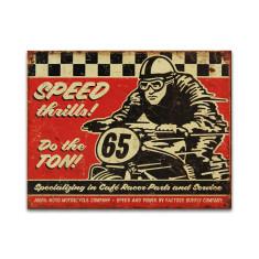 Speed Thrills Sign