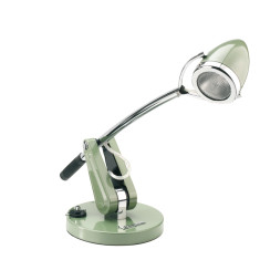 Vespa desk lamp in vespa green
