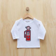 Personalised petrol pump long sleeve t-shirt