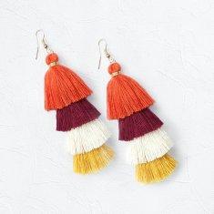 Camilla Tassel Drop Earrings