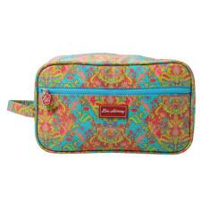 Gusset Vanity Bag in Indian Summer Print