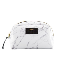 Woouf Beauty & Makeup Case - White Marble