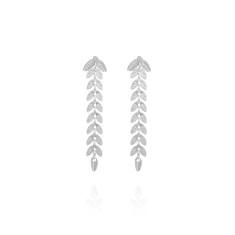 Evergreen Earrings Silver