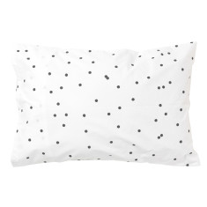 Charcoal sprinkle sprinkle pillowcase