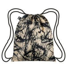 LOQI backpack museum collection jackson pollock