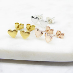 Heart Studs (silver/gold/rosegold)