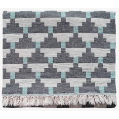 Brita Sweden Confect Cotton Blanket (available in sumac and pepper)