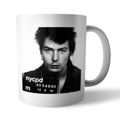Mugshot mug: Sid Vicious
