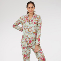 Classic Pyjamas in Blue Beautiful print