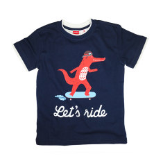 Boy's let's ride tee