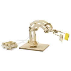 Marbles Hydraulic Robotic Arm
