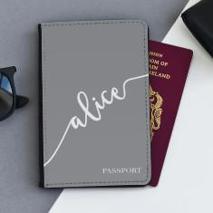 Personalised Handwriting Passport Cover