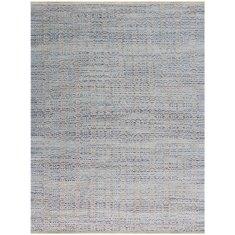 Polo Blue handmade flat weave rug