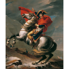 Napoleon Crossing the alps 1801-1805