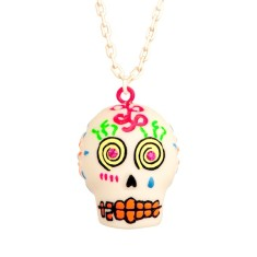 Calaveras necklace - Sugar skull