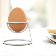 Minimalist Egg Cup Yolk in Black, White or Copper