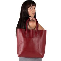 Mrs. Bush Leather Handbag