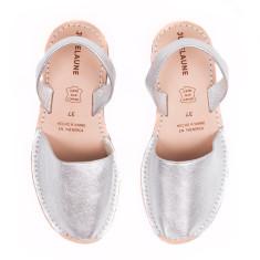 Silver Avarcas Sandals