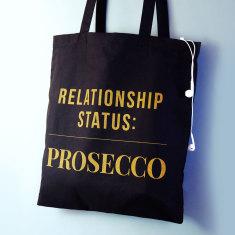 Relationship Status Prosecco Tote Bag