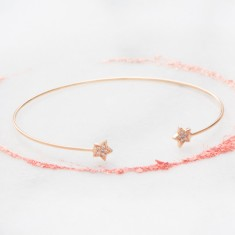 Aline Diamante Star Bracelet