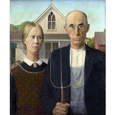 American Gothic 1930 art
