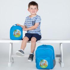 Personalised Boy's School & Lunch Bags