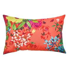 Tropicana tangerine cushion