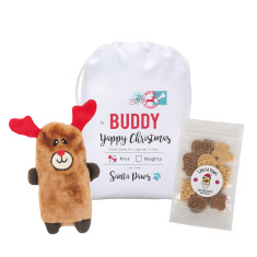 Personalised Christmas pet hamper for dogs in K9 Express