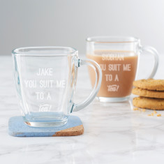 Personalised You Suit Me To A Tea! Mug