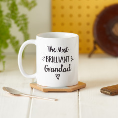 Personalised Brilliant Grandad Mug