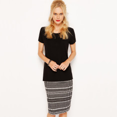 Pencil Skirt Midi - Mexicana