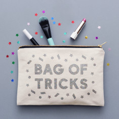 Bag Of Tricks Glitter Pouch