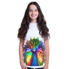 Pride Peacock kid's tee