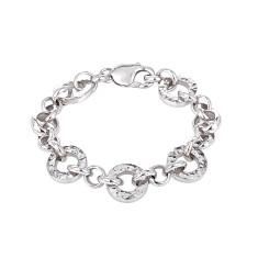 Oasis silver link bracelet