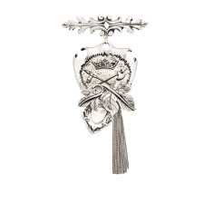 Royal Temptation Brooch - Silver